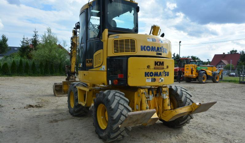 KOMATSU PW98MR-8 KOPARKA KOŁOWA full