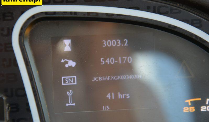 JCB 540-170 ŁADOWARKA TELESKOPOWA full