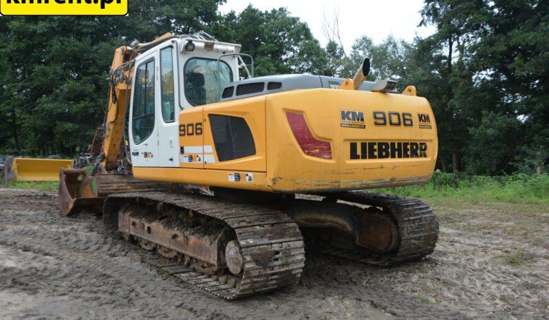 LIEBHERR R906C LC KOPARKA GĄSIENICOWA full