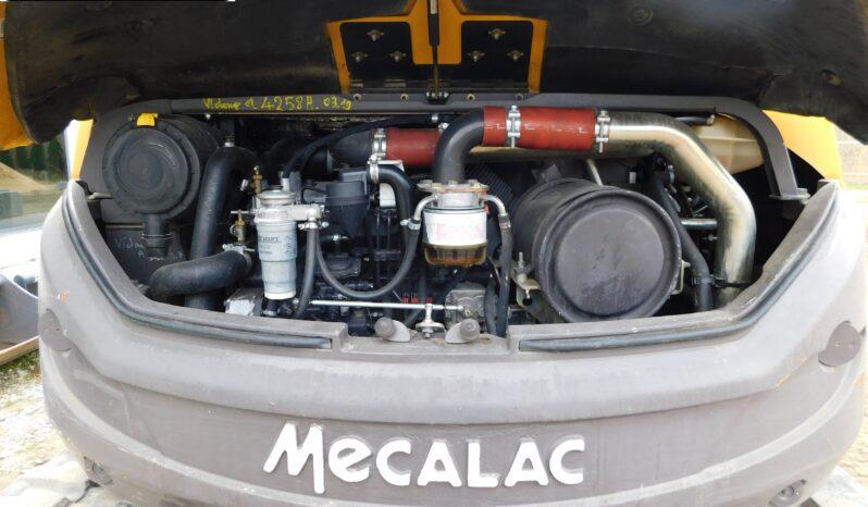 MECALAC 8MCR KOPARKA GĄSIENICOWA full
