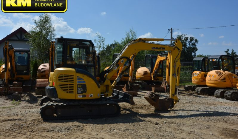 KOMATSU PC55 MR MINI KOPARKA full