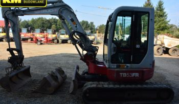 TAKEUCHI TB53FR MINI-KOPARKA full