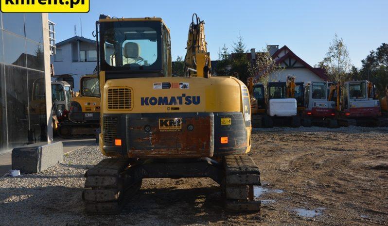 KOMATSU PC88-MR MINI-KOPARKA full