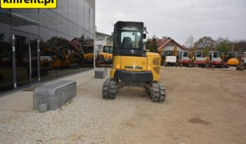 KOMATSU PC55MR MINI-KOPARKA full