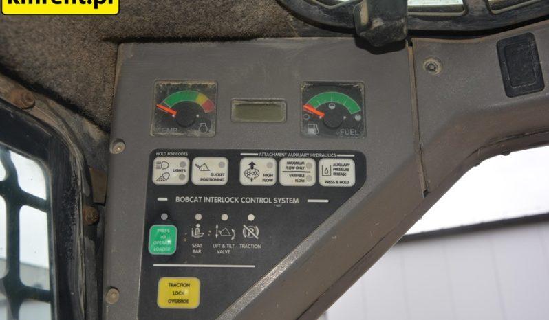 BOBCAT S130 MINI-ŁADOWARKA Z DOSTAWKĄ CAT full