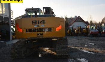 LIEBHERR R914C KOPARKA GĄSIENICOWA full