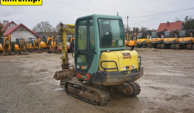 YANMAR B25 MINI-KOPARKA full