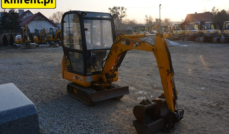 JCB 8015 MINI-KOPARKA full