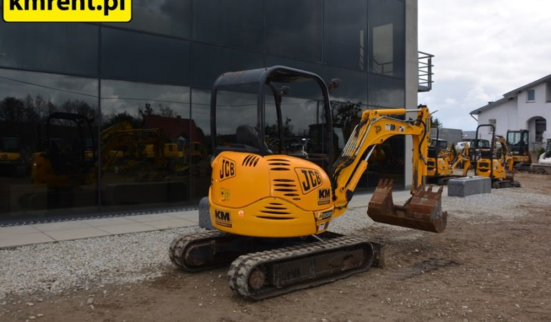 JCB 8025 MINI-KOPARKA full