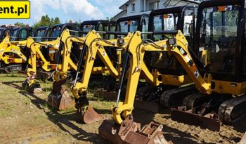 JCB 8018 MINI-KOPARKA full