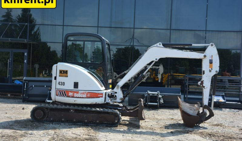 BOBCAT 430 MINI KOPARKA full