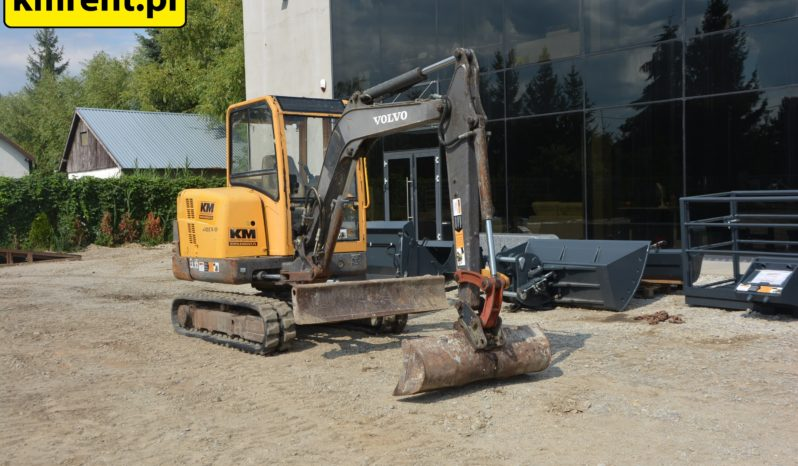 VOLVO EC35 MINI-KOPARKA full