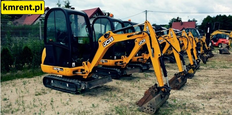 JCB 8045 MINI KOPARKA full