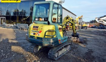 YANMAR B25V MINI-KOPARKA full