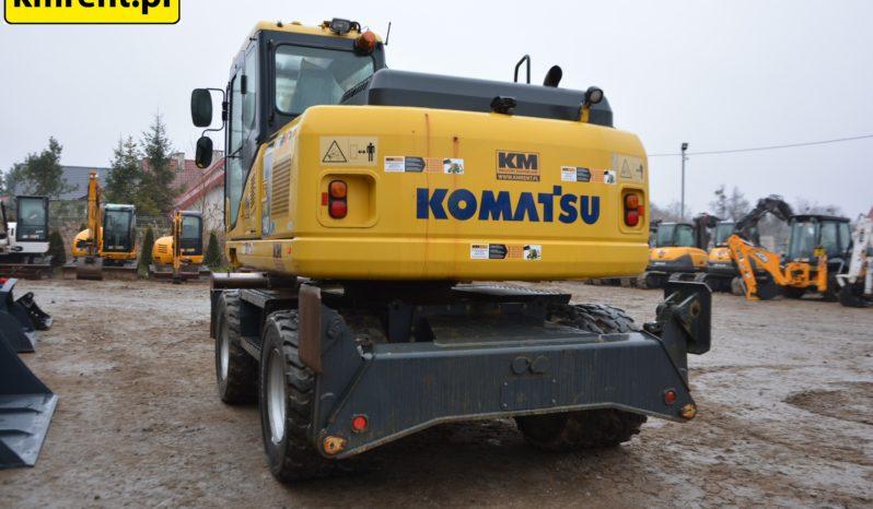 KOMATSU PW140-7 KOAPARKA KOŁOWA full