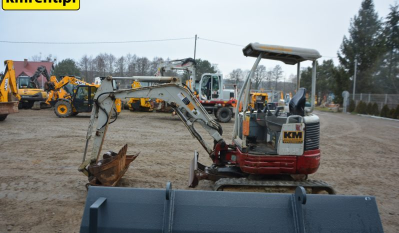 TAKEUCHI TB23R MINI KOPARKA full