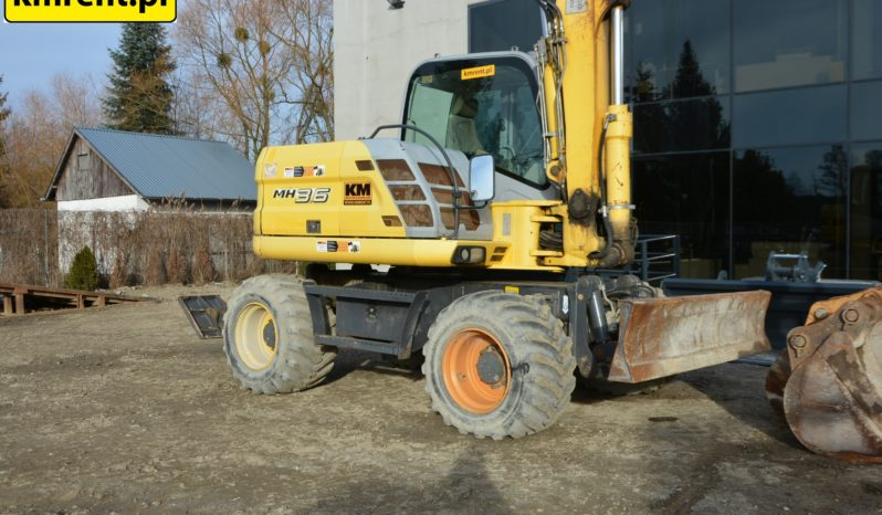 NEW HOLLAND MH 3.6 KOPARKA KOŁOWA full