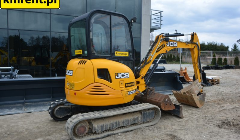 JCB 8030 MINI KOPARKA full