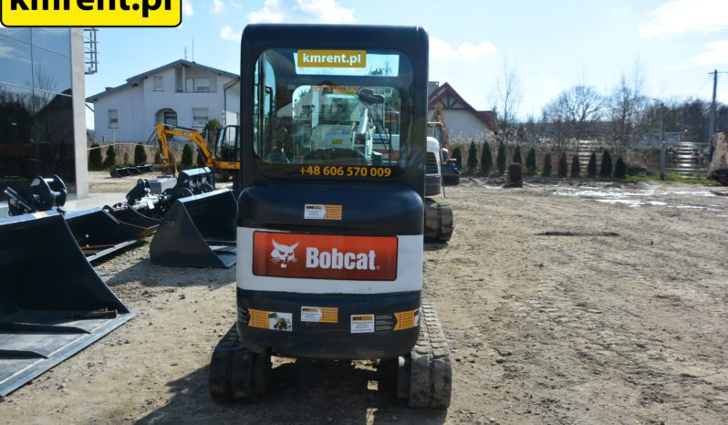 BOBCAT E16 MINI KOPARKA full